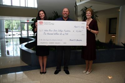 Bev Smith Toyota/Scion Supports IRSC Scholarships For Automotive Training